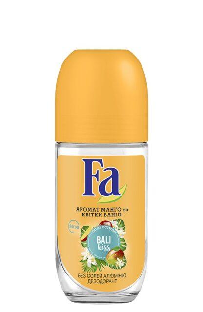 Fа ритмы острова Бали аромат манго и ванили ролик Дезодорант 50 мл