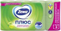 Zewa Плюс Яблоко 2-х слойная туалетная бумага 8 рулонов
