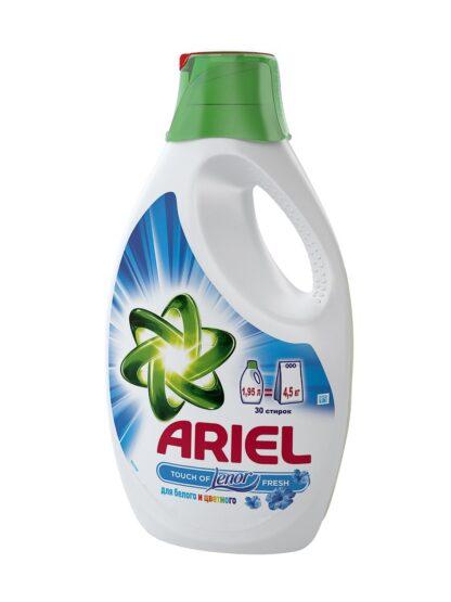 ARIEL Lenor жидкое средство для стирки 1.95 л