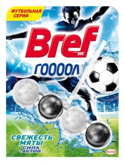 Bref Сила-Актив свежесть мяты Чистящее средство для унитаза 50 г
