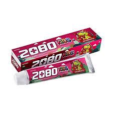 Dental Clinic 2080 Клубника от 2-х лет детская зубная паста 80 г
