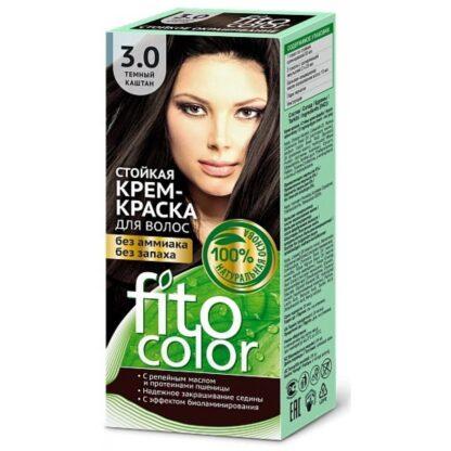 Fitocolor Крем-краска 3.0 Темн каштан115 мл
