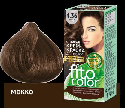 Fitocolor Крем-краска 4.36 Мокко 115 мл