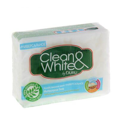 Clean & White by DURU универсальное хозяйственное мыло 125 г