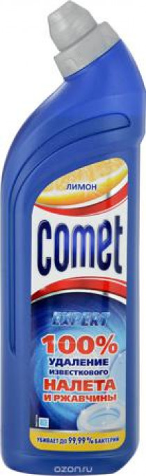 Comet Toilet Expert лимон Чистящее средство для туалета 750 мл