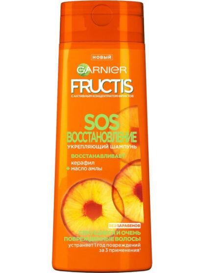 Garnier Fructis Sos Восстановление для секущихся и поврежденных волос Укрепляющий Шампунь 250 мл