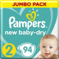 Pampers active baby-dry подгузники 2 (4-8 кг) 94 шт