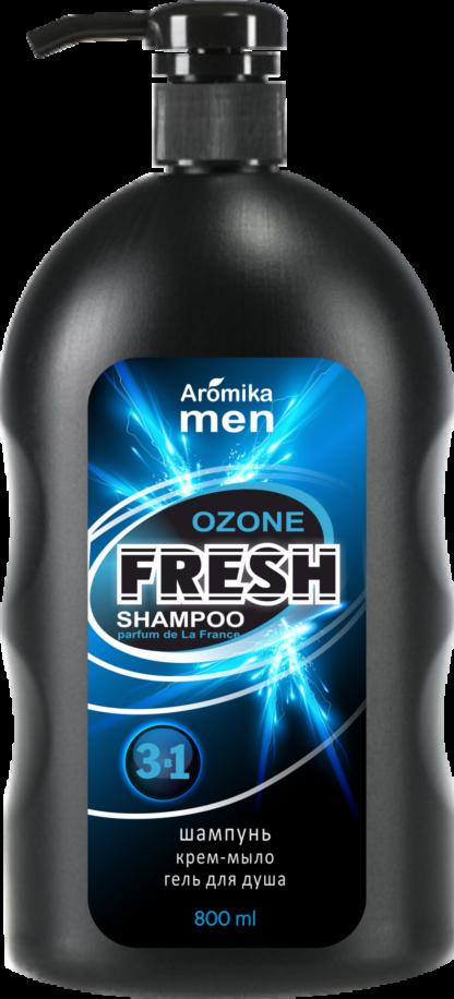Aromika Men ozone fresh 3 в 1 шампунь