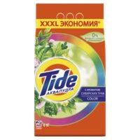 TIDE color аквапудра с ароматом сибирских трав автомат Порошок 6 кг