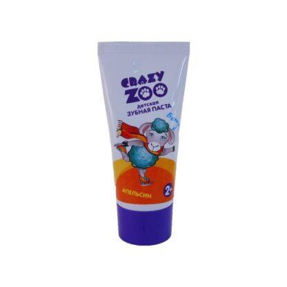 Crazy Zoo апельсин детская зубная паста 50 мл