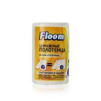Floom 2-х слойные 3 в 1 Мягкие и прочные Бумажные полотенца 1 рулон