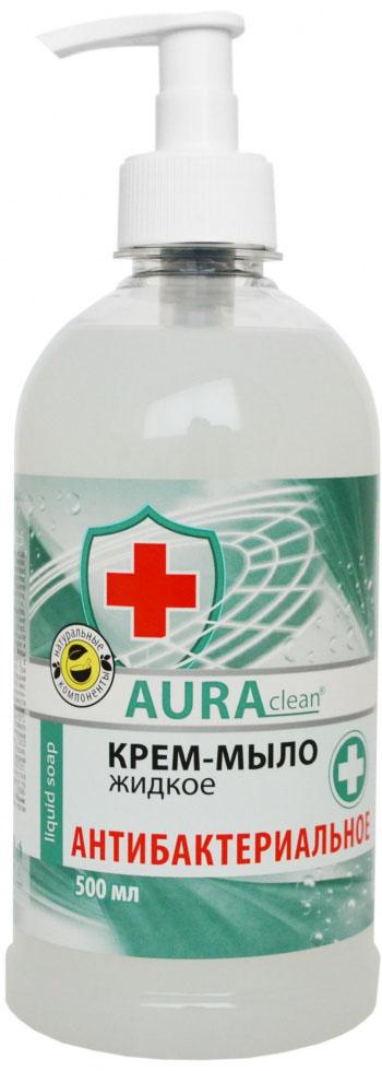 AURAclean антибактериальное жидкое Крем-Мыло 500 мл