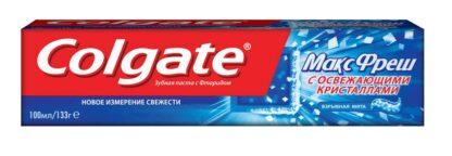Colgate Maxfresh взрывная мята Зубная паста 100 мл