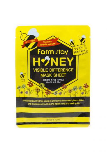 Farm Stay Honey с медом и прополисом тканевая Маска для лица