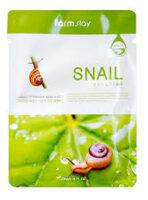 Farm Stay Snail с  муцином улитки Тканевая маска для лица