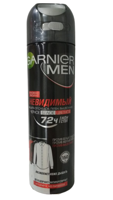 Garnier Men mineral невидимый 72 ч спрей Дезодорант 150 мл