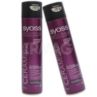 SYOSS Ceramide 5 экстрасильная  фиксация Лак для волос 400 мл