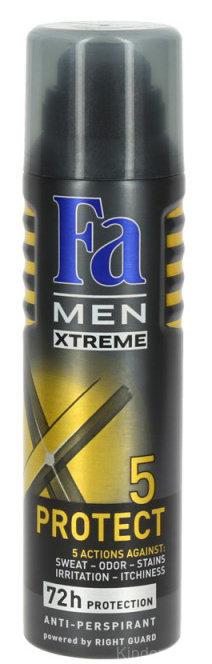 Fа MEN Xtreme Protect 5 спрей Дезодорант 150 мл