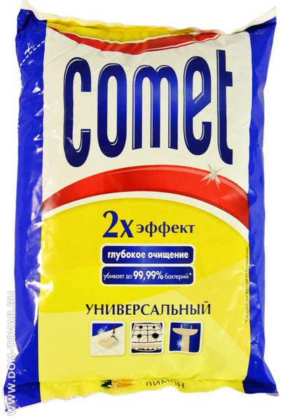 Comet Лимон 2х эффект Универсальный чистящий порошок 400 гр