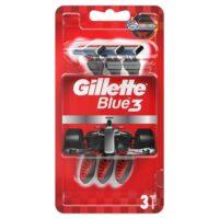 Gillette Blue 3 одноразовые бритвенные станки 1 уп - 3 шт (цена за уп.)