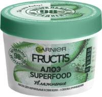 Garnier Fructis Алоэ Увлажнение для волос нуждающихся в увлажнении и мягкости Маска для волос 390 мл