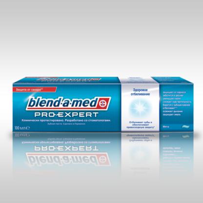 Blend a med Pro-expert Здоровое отбеливание мята Зубная паста 100 мл