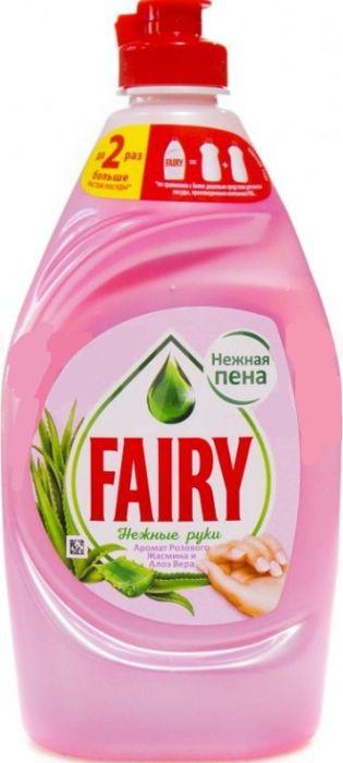 FAIRY  нежные руки жасмин+алоэ вера средство для мытья посуды 450 мл