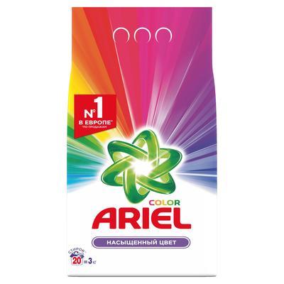 ARIEL color насыщенный цвет автомат Порошок 3 кг