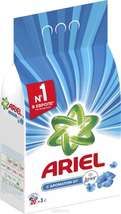 ARIEL с ароматом Lenor автомат Порошок 3 кг