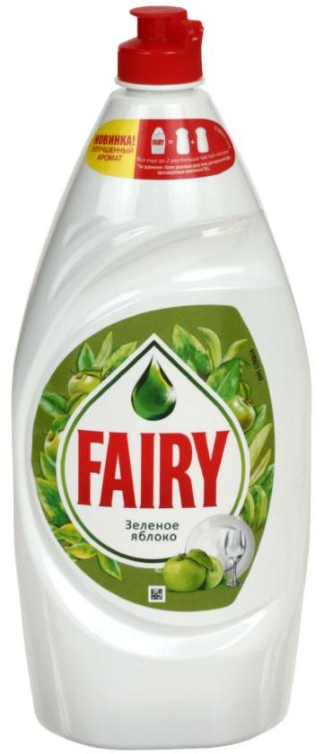 FAIRY Зеленое яблоко средство для мытья посуды 900 мл