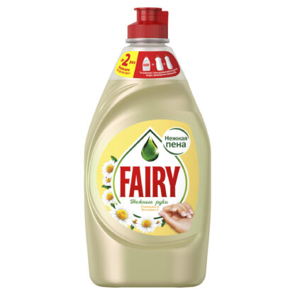 FAIRY Нежные руки Ромашка и витамин Е средство для мытья посуды 900 мл
