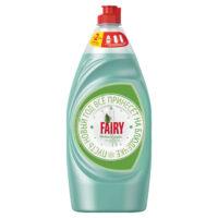 FAIRY Нежные руки Чайное дерево и мята средство для мытья посуды 900 мл