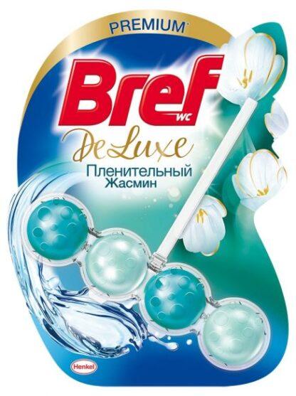 BREF De-Luxe Пленительный жасмин Чистящее средство для унитаза 50 г
