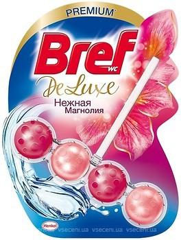 BREF De-Luxe Нежная магнолия Чистящее средство для унитаза 50 г