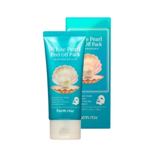 Farm stay white pearl peel off pack с белым жемчугом маска-плёнка для лица 100 г