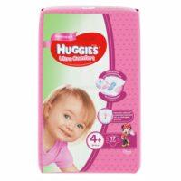 Huggies Ultra comfort подгузники для девочек 4+ (10-16 кг) 17 шт