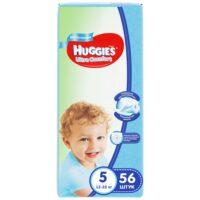 Huggies Ultra comfort подгузники для мальчиков 5 (12-22 кг) 56 шт