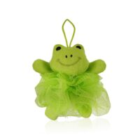 Bambolina Лягушка 2+ детская мочалка для тела