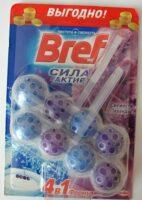 Bref Сила-Актив Свежесть лаванды Чистящее средство для унитаза 2*50 г