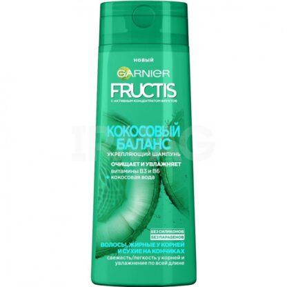 Garnier Fructis Кокосовый баланс для жирных у корней и сухих на кончиках волос Шампунь 250 мл