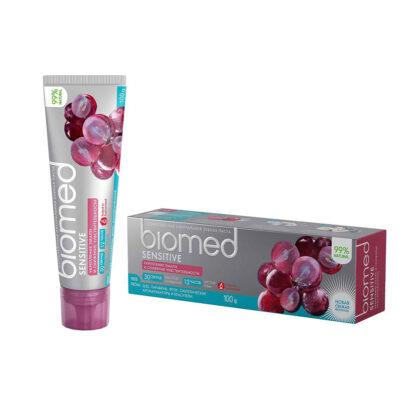 Biomed sensitive укрепление эмали и снижение чувствительности Натуральная Зубная паста 100 мл