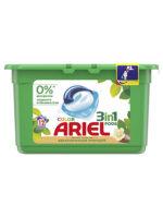 ARIEL Color аромат масла ши средство жидкое в растворимых капсулах для стирки белья 12 шт