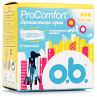 O.b. ProComfort Normal Тампоны 8 шт