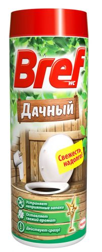 BREF Дачный Средство дезодорирующее для дачного туалета 450 гр