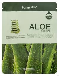 Farm Stay Aloe с экстрактом алоэ Тканевая маска для лица
