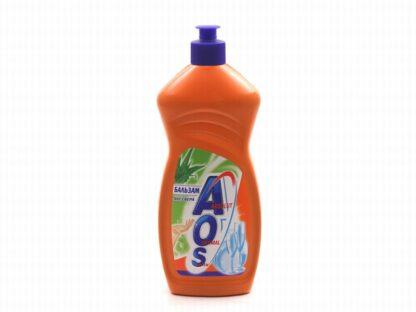 AOS бальзам  Алоэ вера средство для мытья посуды 450 мл