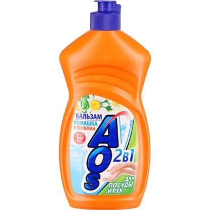 AOS бальзам Ромашка и витамин Е 500 мл средство для мытья посуды