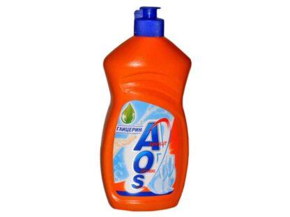 AOS Глицерин средство для мытья посуды 450 мл