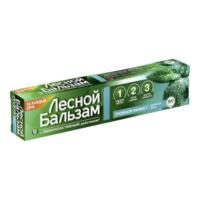 Лесной бальзам Тройной эффект двойная Мята зубная паста 75 мл