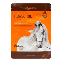 Farm Stay Horse oil с лошадиным жиром тканевая Маска для лица